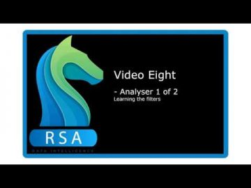 Video 8 - Analyser 1 of 2 -The Filters