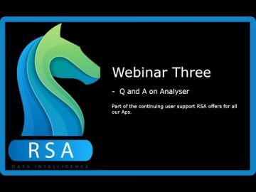 RaceStatsApp Webinar Three - Q and A on Analyser