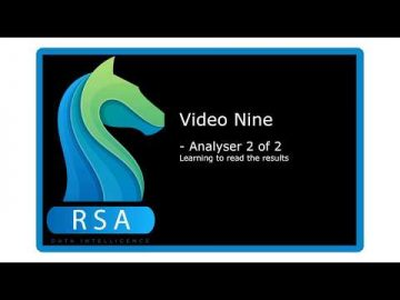 Video 9 - Analyser 2 of 2 - Reading the Data